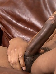His beautiful, long, uncut cock grew fast and Damien was soon jerking his dick as proudly as the next man on the site